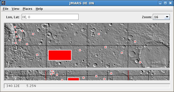 Shape Layer | JMARS - Java Mission-planning and Analysis for Remote
