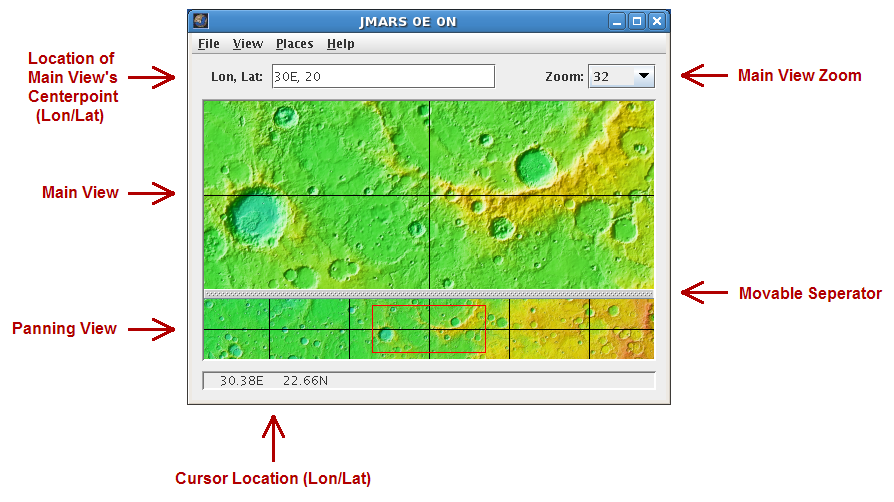 JMARS for Windows full screenshot
